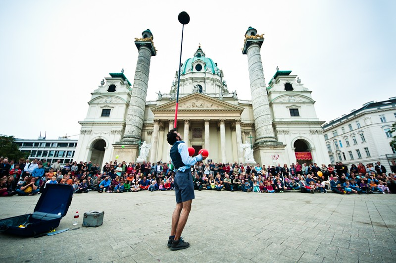 buskers festival vienna